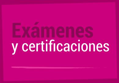 <p>Inglés Exámenes y certificaciones</p>